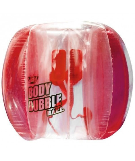 WICKED - Body Bubble Ball - Rouge - Bubble gonflable ballon football - Bubble soccer
