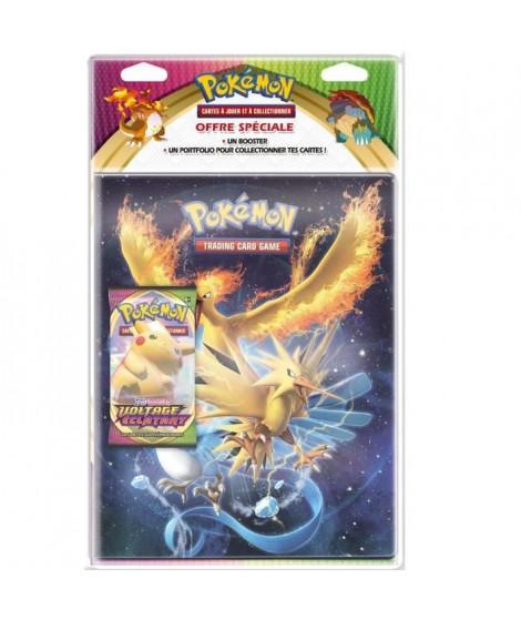 Pack cahier range-cartes+Booster Pokémon  Epée & Bouclier 4
