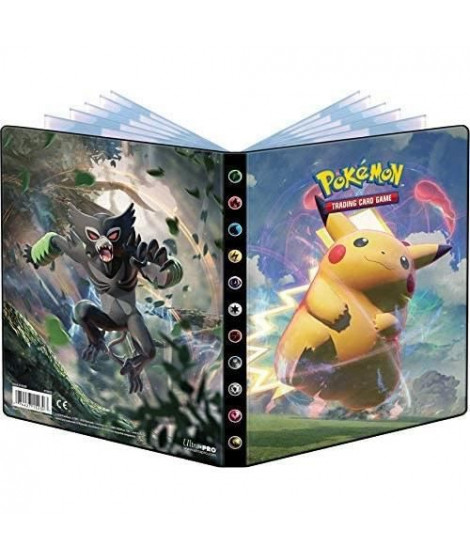 Cahier range-cartes Pokémon Epée & Bouclier 4 - 80c.
