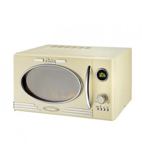 KALORIC - TKG MW 2500 DG - Four a micro-ondes multifonction - pose libre - 23L - 1000W - Blanc
