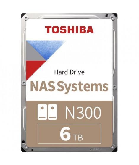 Toshiba Disque Dur interne NAS N300 3,5'' Bulk - 6To