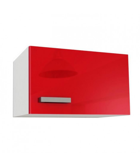 START Meuble sur hotte L 60 cm - Rouge Brillant