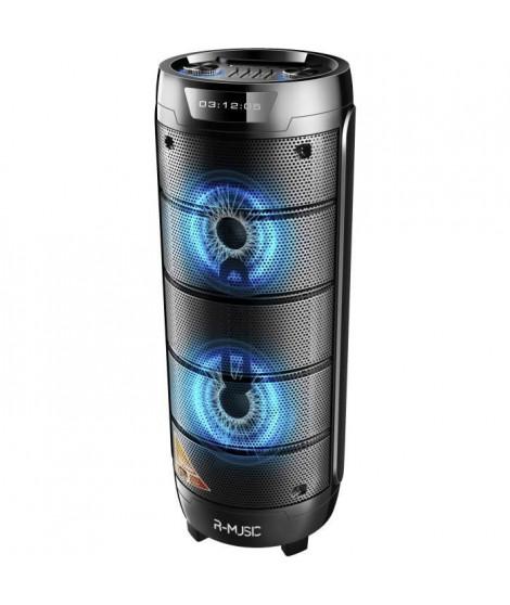 R-MUSIC RM311685 BOOSTER XL - High power - Enceinte Sans Fil 1000W - Son 360