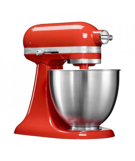 KITCHENAID Mini Artisan 5KSM3311XEHT Robot Pâtissier 3,3L  - Rouge Piment