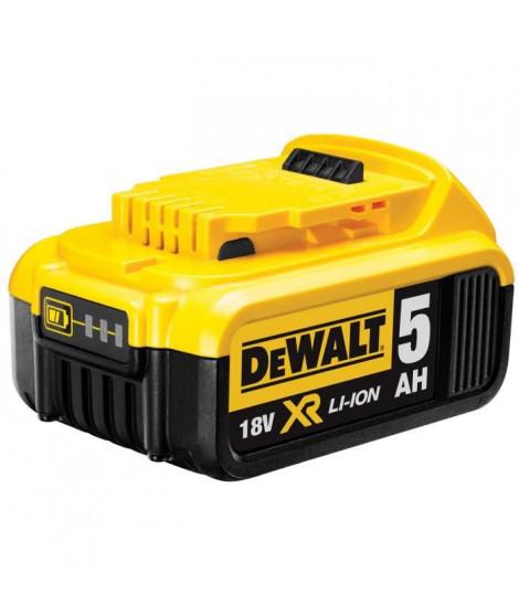 DEWALT Batterie Li-ion XR - 18V - 5 Ah - Indicateur de charge