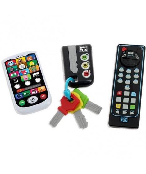TALDEC Infini Fun - Coffret Clés Télephone Télecommande Educatifs