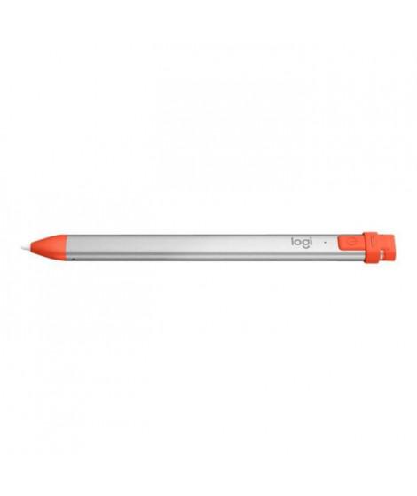 LOGITECH Crayon Intense Sorbet pour iPad (7e génération) - Gris et orange