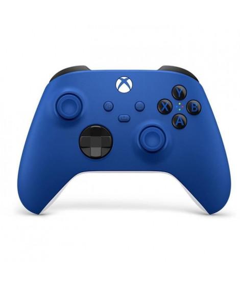Manette Xbox Series sans fil nouvelle génération - Shock Blue / Bleu