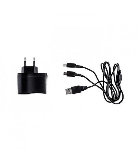 Multi Chargeur secteur + Cable USB DS Noir Under Control