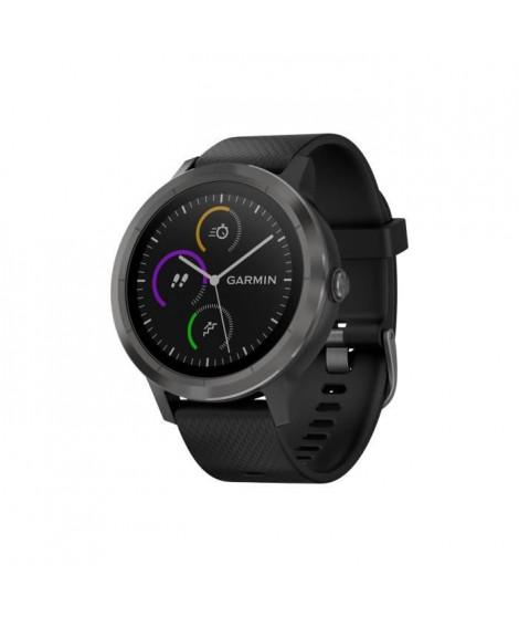 GARMIN Vivoactive 3 Black Montre connectée GPS Cardio - Noir / Gris