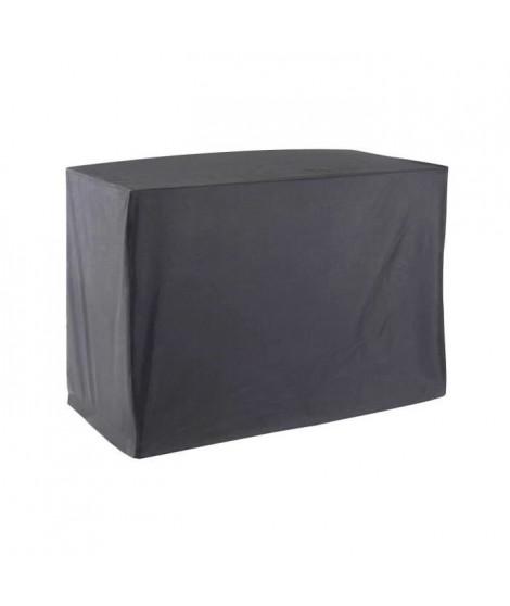 GREEN CLUB Housse de protection plancha + chariot - 118x57x87 cm - Gris