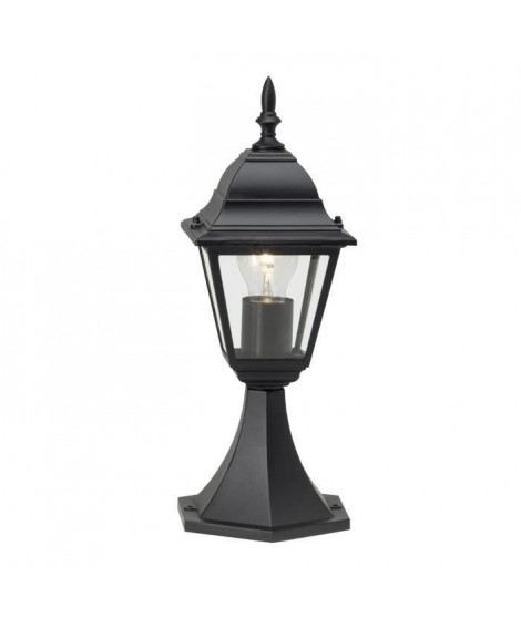BRILLIANT Borne NEWPORT - E27 - 1x60W - Coloris noir