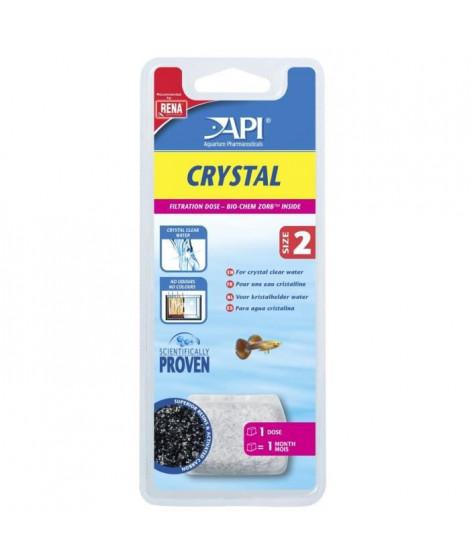 API Dose filtration Crystal T2 (x1) - Pour aquarium