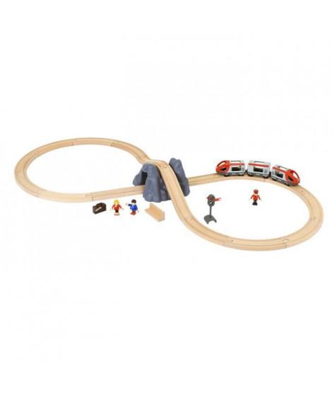 BRIO World  - 33773 - Circuit En 8 Voyageurs - Pack A