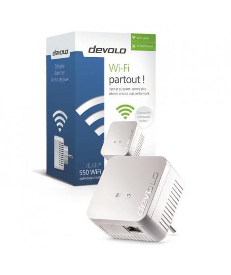DEVOLO CPL Wi-Fi 550 Mbit/s Modele 9625 dLAN 550 WiFi