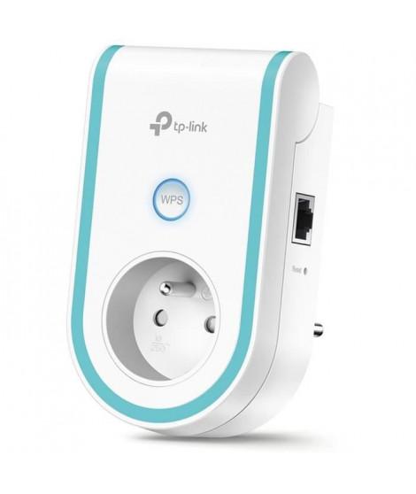 TP-LINK Répéteur Wi-Fi RE360(FR) Bi-bande AC 1200Mbps avec 1 port Gigabit plus prise intégrée (Mode Répéteur/Point d'acces)