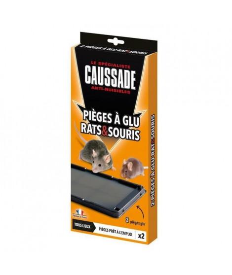 CAUSSADE 2 pieges a glu - Pour rats & souris - 120 g