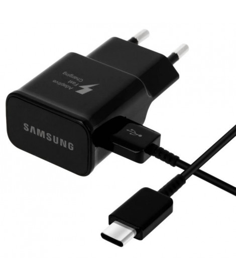 Samsung Chargeur secteur rapide noir USB Type C