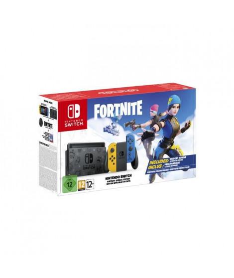 Console Nintendo Switch - Edition Spéciale Fortnite - Paire de Joy-Con Grises + 2000 V Bucks