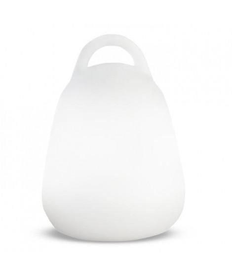 LUMISKY Baladeuse sans fil LED LIBERTY C25 - Waterproof et flottante - H 24 cm - Blanc et multicolore