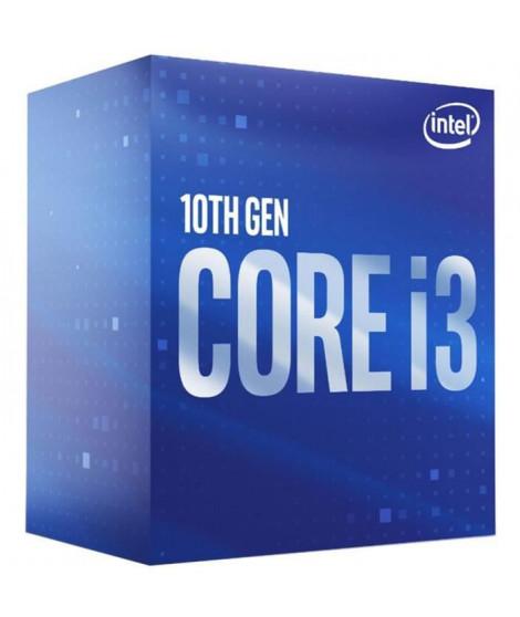 Processeur Intel Core i3-10100F - 4 coeurs - 4,3 GHz - TDP 65W (BX8070110100F)