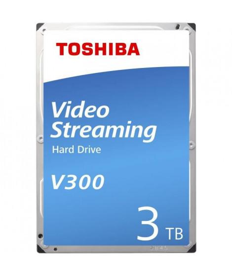 Toshiba V300 3 To - Disque dur 3.5 3 To 5940 RPM 64 Mo Serial ATA III pour Streaming ( Catégorie : Disque dur interne )