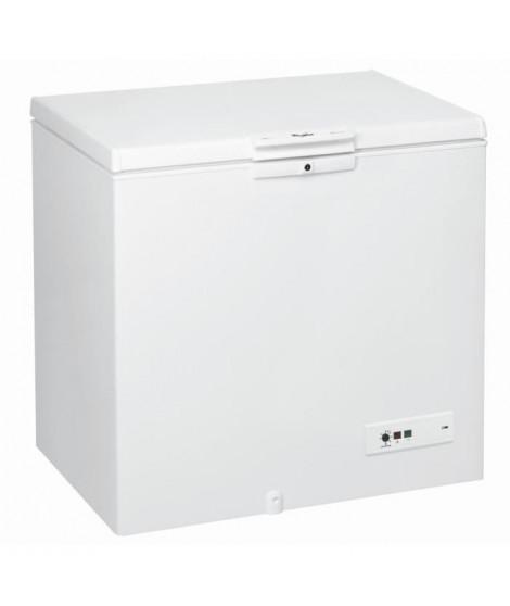 WHIRLPOOL WHM2511 Congélateur coffre - 251 L - Froid statique - A+ - L 101 x H 91,6 cm - Blanc