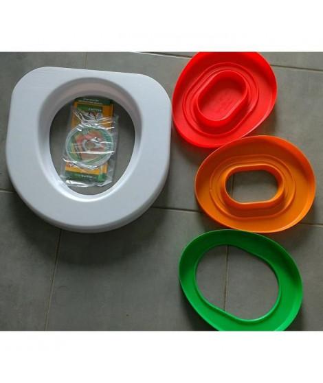 LITTER KWITTER Kit d'apprentissage a l'utilisation des toilettes de la maison - Pour chat