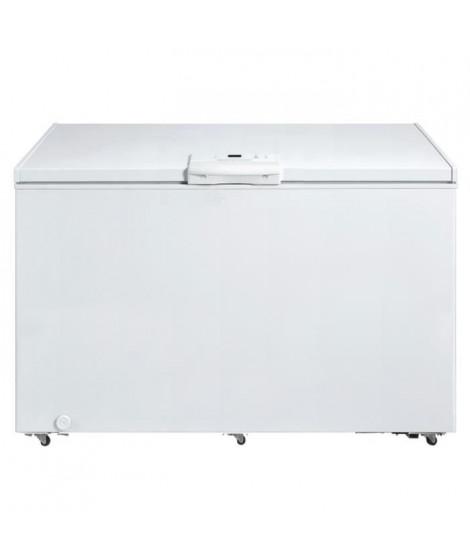 Congélateur coffre - 502L - Thermostat électronique - classe A+ - 1 panier - Blanc