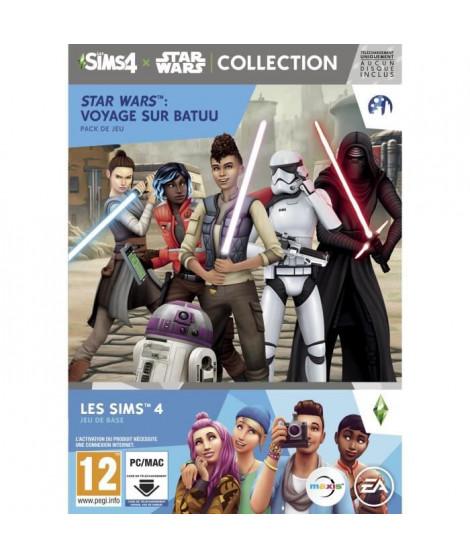 SIMS 4 Jeu PC + Star Wars Voyage sur Batuu Extension PC