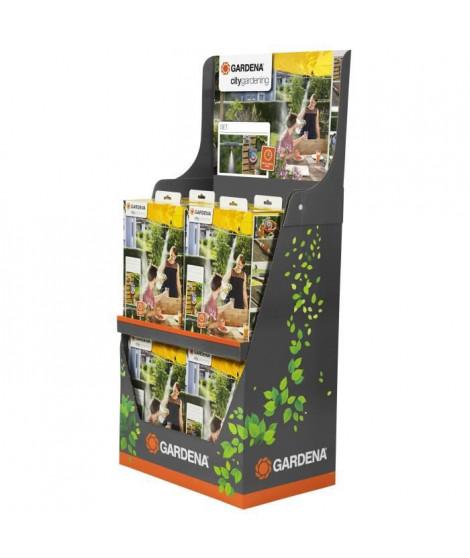 GARDENA Présentoir de 8 kits de brumisation + Programmateur Easy Plus