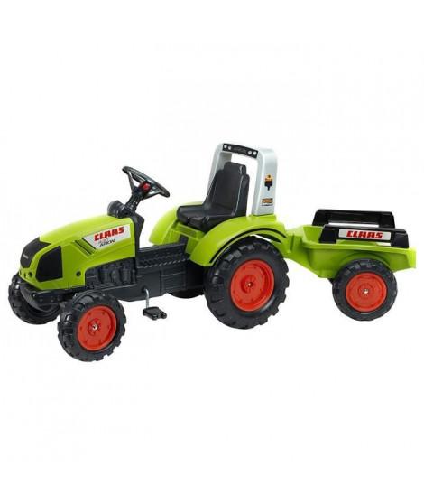 FALK Tracteur a pédales CLAAS Arion 430 avec remorque - 1040AB