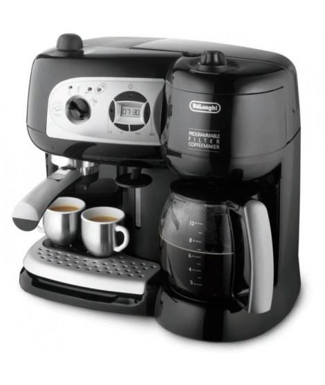 DELONGHI BCO 264.1 Combiné expresso cafetiere - Noir