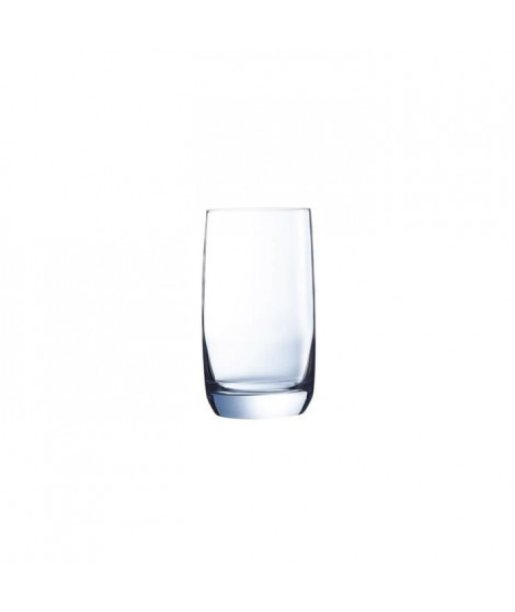 CHEF ET SOMMELIER Lot de 6 verres gobelets VIGNE - 33 cl