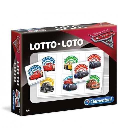 CLEMENTONI Jeu de Loto - Cars 3 - Jeu éducatif