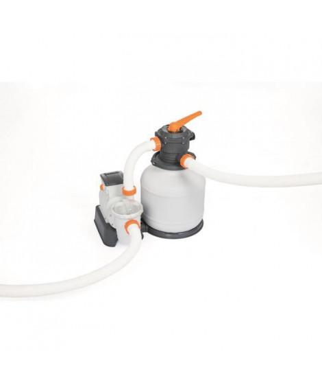 BESTWAY Filtre a sable 7,57 m³/H + pré-filtre - Blanc