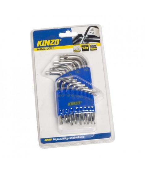 KINZO Jeu de clés allen - 13 pieces