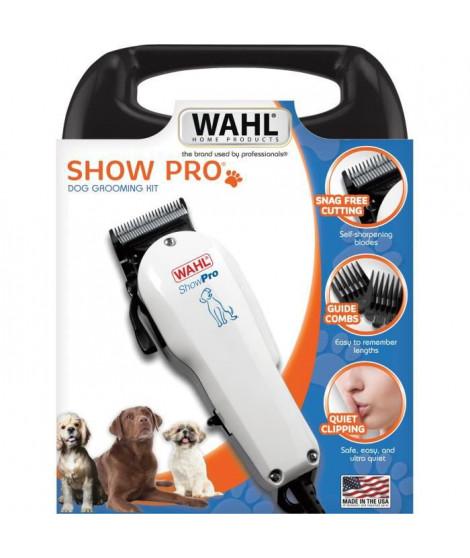 WAHL Tondeuse animal ShowPro 09265-2016 - Tondeuse filaire Made in USA - Moteur V5000 breveté puissant et silencieux