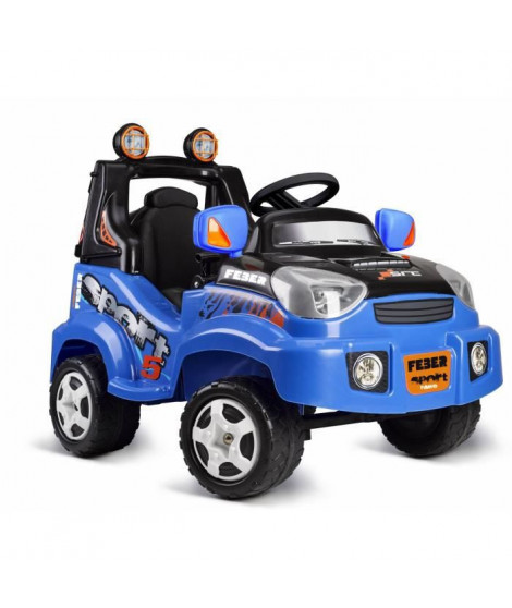 FEBER - 800012225 - Voiture TT Sport - voiture electrique 6V