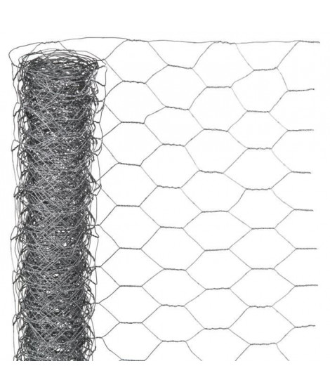 NATURE Maille hexagonale 1x10m