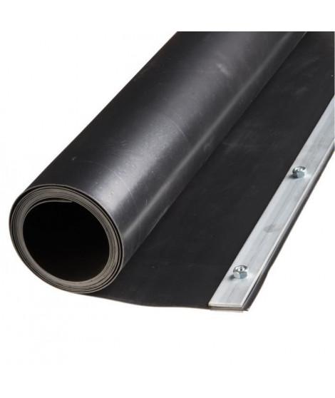 NATURE Barriere anti-racinaire avec rail de fermeture - HDPE noir