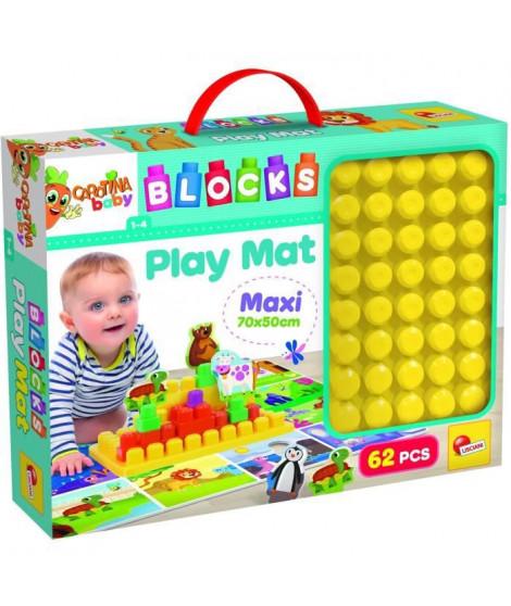 LISCIANI GIOCHI Carotina Baby Block Play Mat 40799