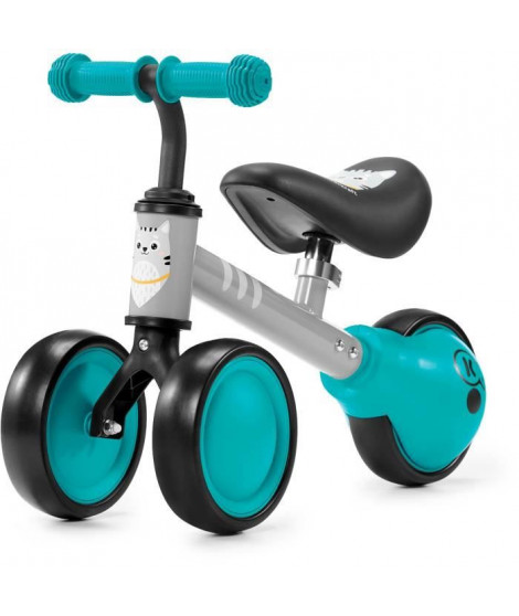 KINDERKRAFT Mini vélo Draisienne CUTIE Turquoise - 3 roues - Des 1 an