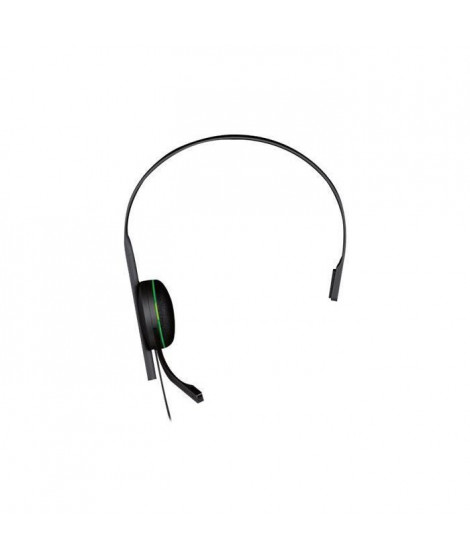 Microsoft Xbox One Chat Headset Casque sur-oreille filaire pour Xbox One, Xbox One S, Xbox One X