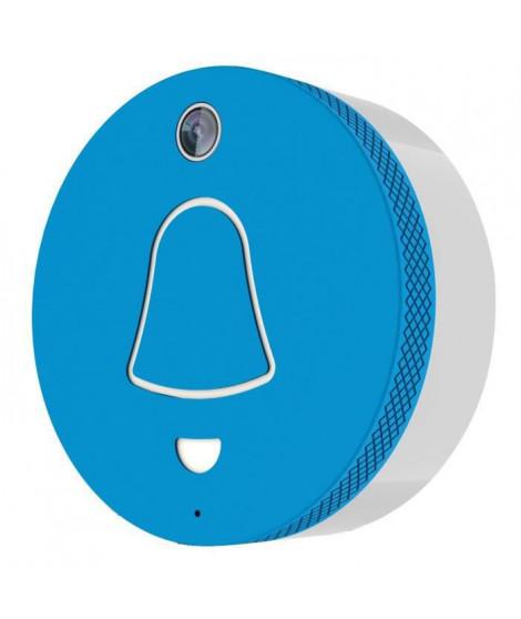 EXTEL Link Carillon connecté WiFi bleu avec caméra grand angle