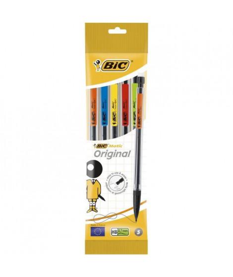 BIC Porte mine BIC matic classic hb 0,7 x5