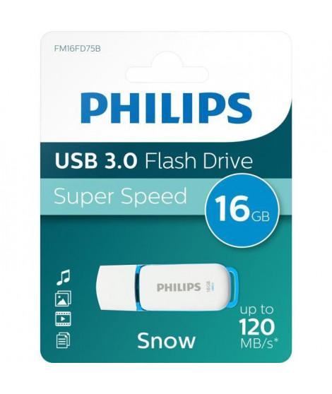 PHILIPS - Clé USB - Snow - 16 Go - USB 3.0