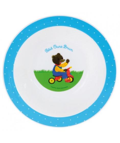 Fun House Petit Ours Brun bol micro-ondable pour enfant