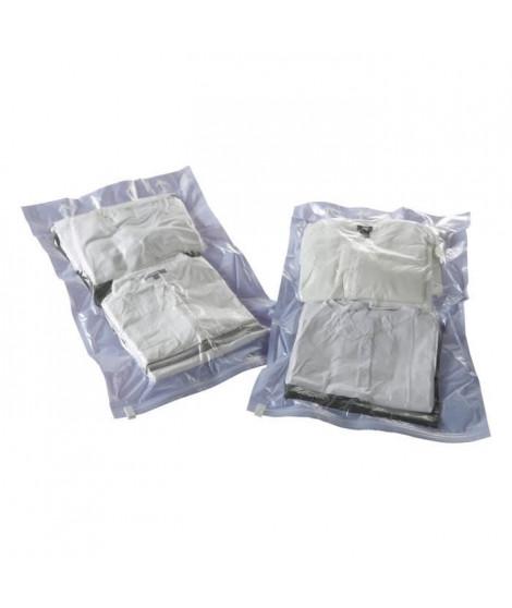 COMPACTOR Lot de 2 sachets de compression Roll up - Taille M - Violet