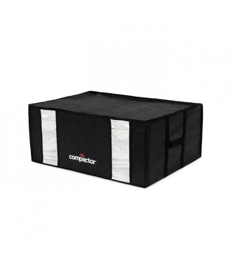 COMPACTOR Lot de 3 sacs de compression Black Edition - Taille XXL - 210 L - Noir